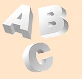 3D Huge Lettering & Logo