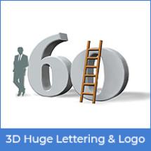 3D-Huge-Lettering-&-Logo